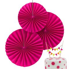Paper Pinwheel, Neon Pink