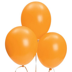 Balloons, Orange Latex
