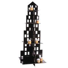 Skyscraper Cupcake Tower