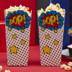 Super Hero Popcorn Boxes