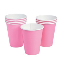 Candy Pink Beverage Cups
