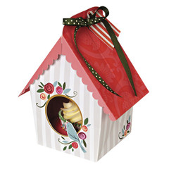 Small Birdhouse Cupcake Box