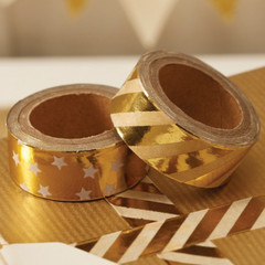 Washi Tape, Gold Foil