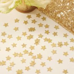Confetti, Gold Glitter Stars