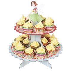 Fairy Magic Two-Tier Cupcake Stand