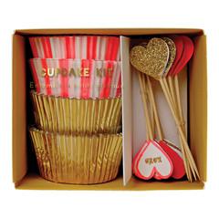 Hearts Cupcake Kit