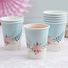 Floral Fancy Party Cups