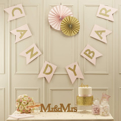 Candy Bar Bunting