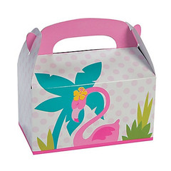 Forever Flamingos Treat Boxes