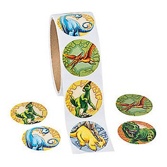 Stickers, Dinosaurs Roar