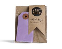 Parcel Tag: 10 Vivacious Violet