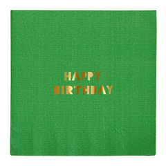 Happy Birthday Napkin, Large