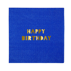Happy Birthday Napkin, Small