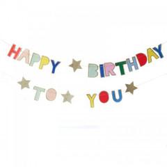 Happy Birthday Mini Garland
