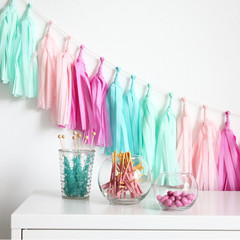 Tassel Garland Kit, Candy Shoppe