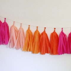 Tassel Garland Kit, Bright