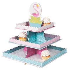 Forever Flamingos Treat Stand
