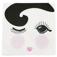 Miss Etoile Napkins, Open/Closed Eyes