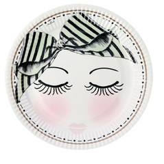 Miss Etoile Plates, Eyes and Dots