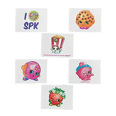 Shopkins™ Tattoos