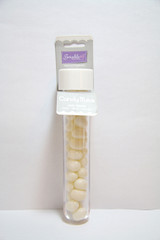 Jelly Bean Candy Tube, White