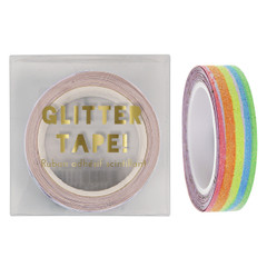 Washi tape, Rainbow Glitter