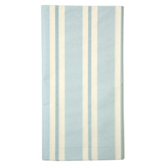Soft Blue Stripe Tablecloth