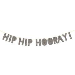Banner, Silver Hip, Hip, Hooray