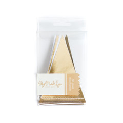 Mini Gold Foil Banner