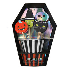 Halloween Coffin Cupcake Kit