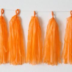 Tassels, Orange