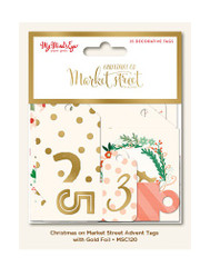 Christmas on Market Street Advent Calendar Gift Tags