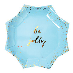 Be Merry Plates, Large