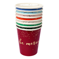 Be Merry Beverage Cups