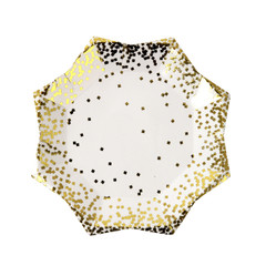 Gold confetti, Small Plate