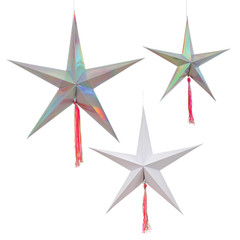 3D Star Decorations