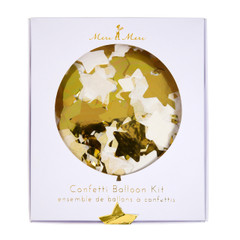 Confetti filled Balloon Kit, Gold