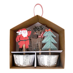 Santa's Coming to Town, Cupcake Kit