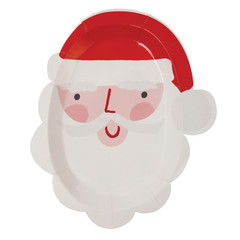 Santa's Coming to Town, Cut Out Plates