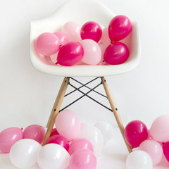 Balloons: 36 Pink Mixed Minis