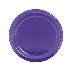 Easter Plates, Large Purple