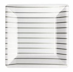 Silver Stripes, Plates, Large