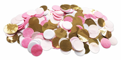 Confetti, Pink & Gold
