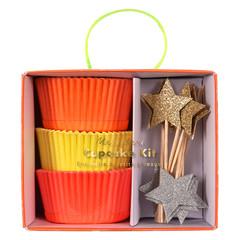 Neon Cupcake Kit