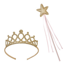 Tiara and Magical Wand Set