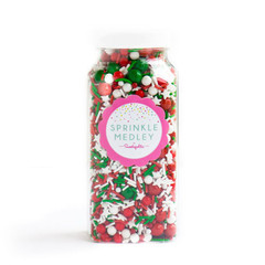 Gourmet Sprinkles, Merry Merry Sprinkle Medley (mini bottle)