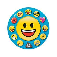 Emoji Plates, Large