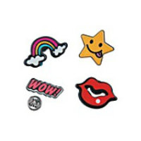 Pop Art Metal Pins