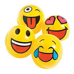 Inflatable Emoji Mini Beach balls