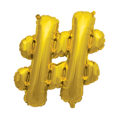 Hashtag, Gold
